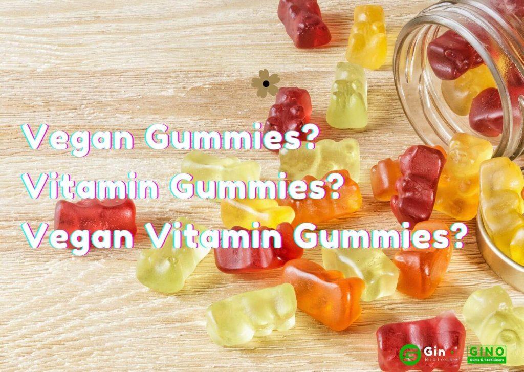 What are Vegan Gummies? Vitamin Gummies? Vegan Vitamin Gummies?