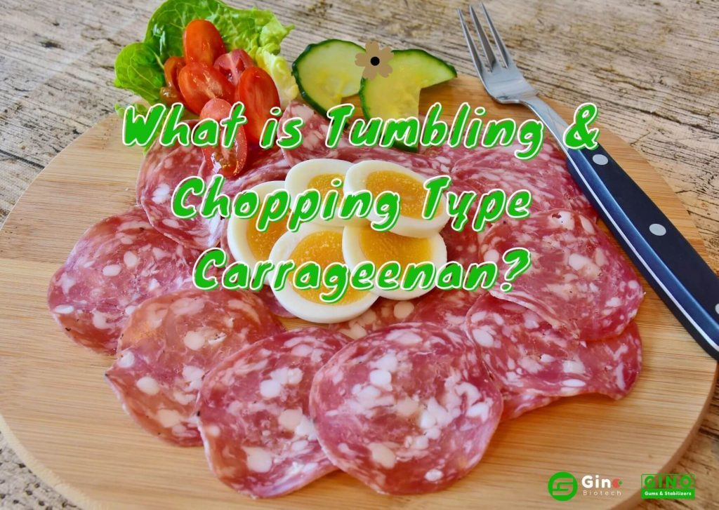 what is tumbling & chopping type carrageenan_Gino Biotech_Carrageenan Supplier