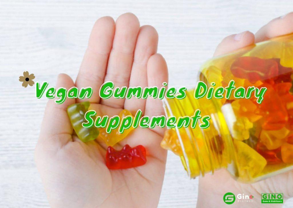 Vegan Gummies Dietary Supplements Meet Consumer Demand