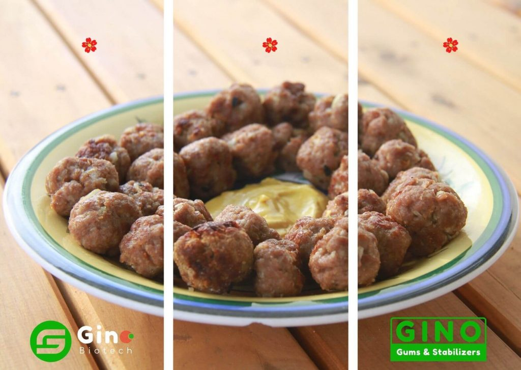 carrageenan powder in meat balls products_Gino Biotech_Carrageenan Supplier