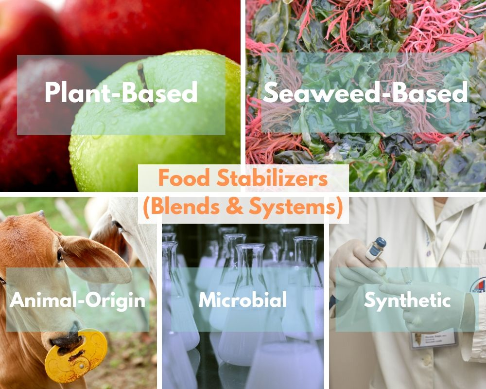 food thickening agents sources and classification