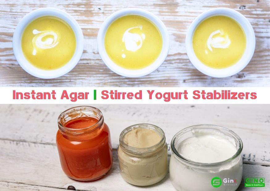 Instant Agar Stirred Yogurt Stabilizers (3)