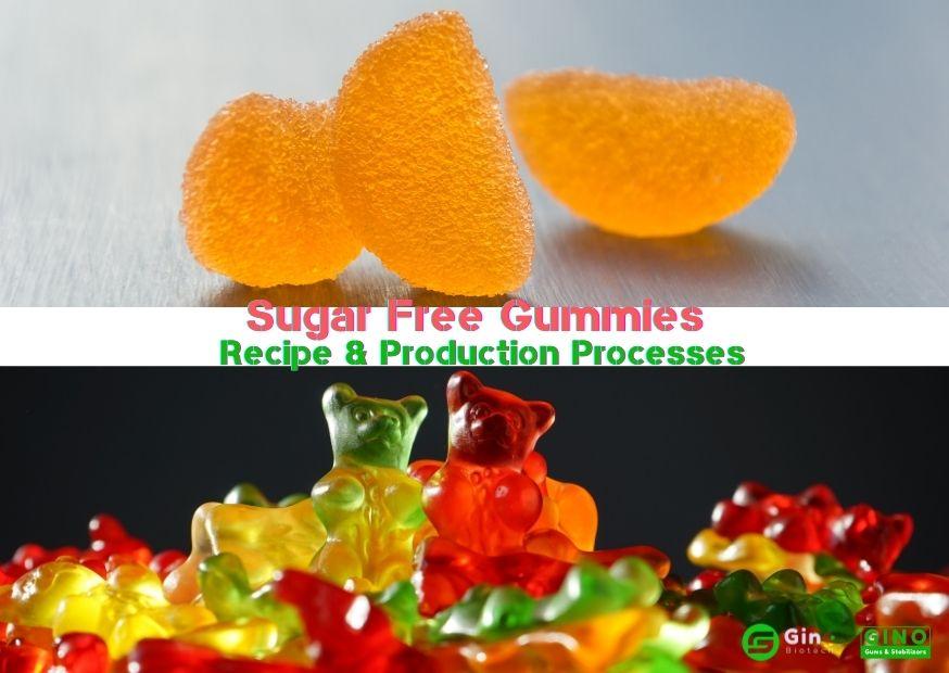 Sugar-free Gummies Recipe & Production Processes (2)